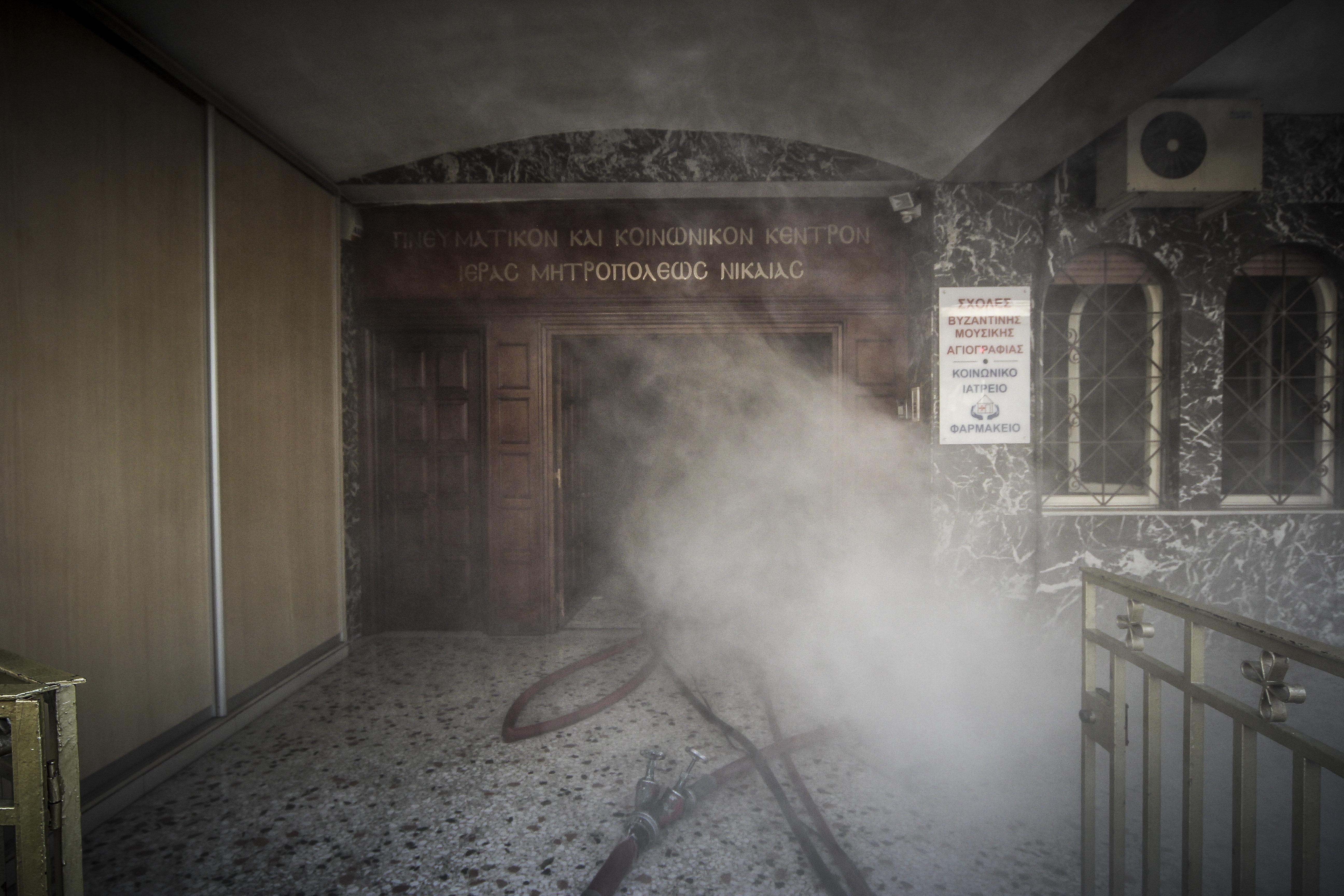Πυρκαγιά σε ισόγειο κτίριο της Μητρόπολης στη