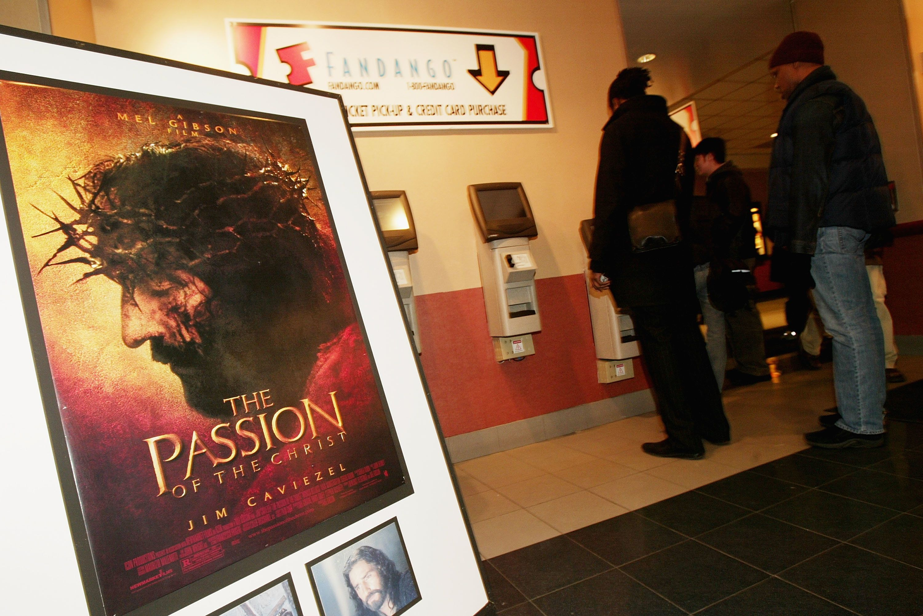 Mel Gibson's 'The Passion of the Christ' opens at the Regal Cinemas 14 February 24, 2004 in New York City.