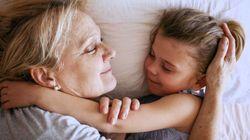Deja que los niños estén con sus abuelos, aprenderán a no