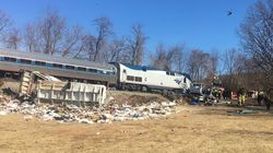Train Carrying GOP Members Of Congress Collides With