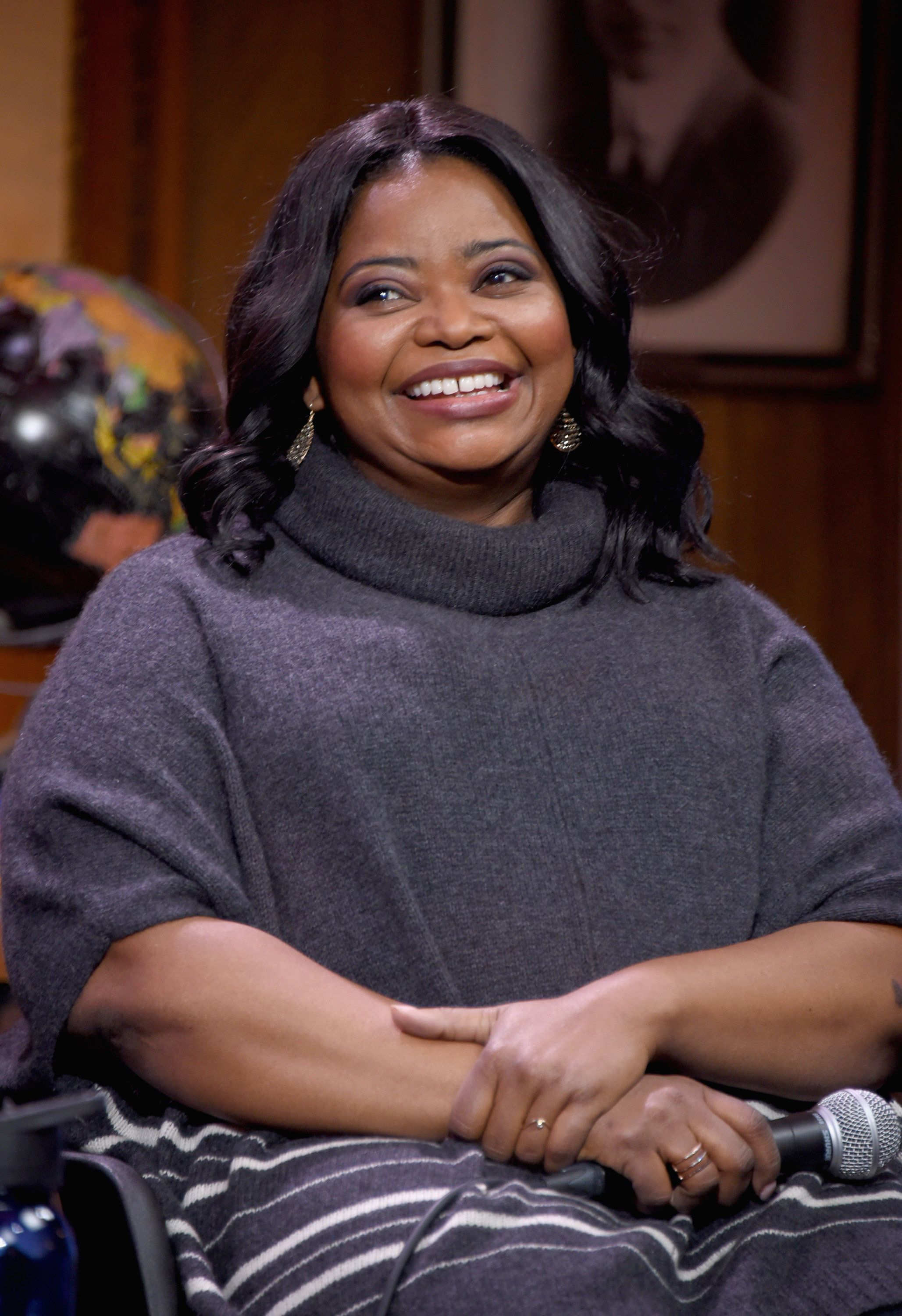 PARK CITY, UT - JANUARY 23:  Actor Octavia Spencer attends the Sloane Panel: Ways Of Seeing during the 2018 Sundance Film Festiva at Filmmaker Lodge on January 23, 2018 in Park City, Utah.  (Photo by Michael Loccisano/Getty Images)