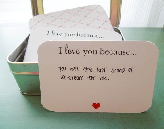 """Get them <a href=""""https://www.etsy.com/listing/130628151/52-i-love-you-because-notecards-in"""" target=""""_blank"""">here</a>."""