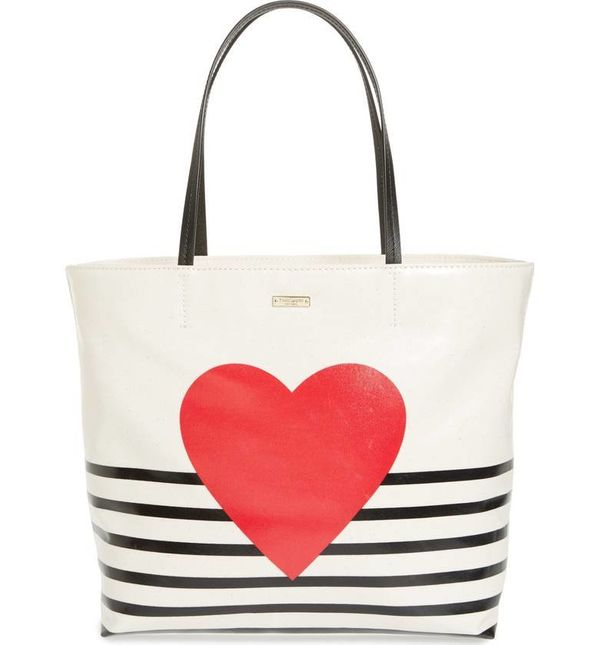 """Get it <a href=""""https://shop.nordstrom.com/s/kate-spade-new-york-yours-truly-hallie-canvas-tote/4748021?origin=category-perso"""