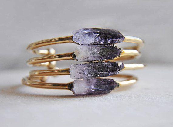"""Get it <a href=""""https://www.etsy.com/listing/77500905/amethyst-cuff-amethyst-bracelet-pyrite"""" target=""""_blank"""">here</a>."""