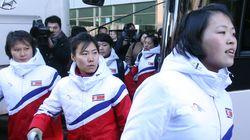 북한 선수들이 드디어 오늘 남쪽으로