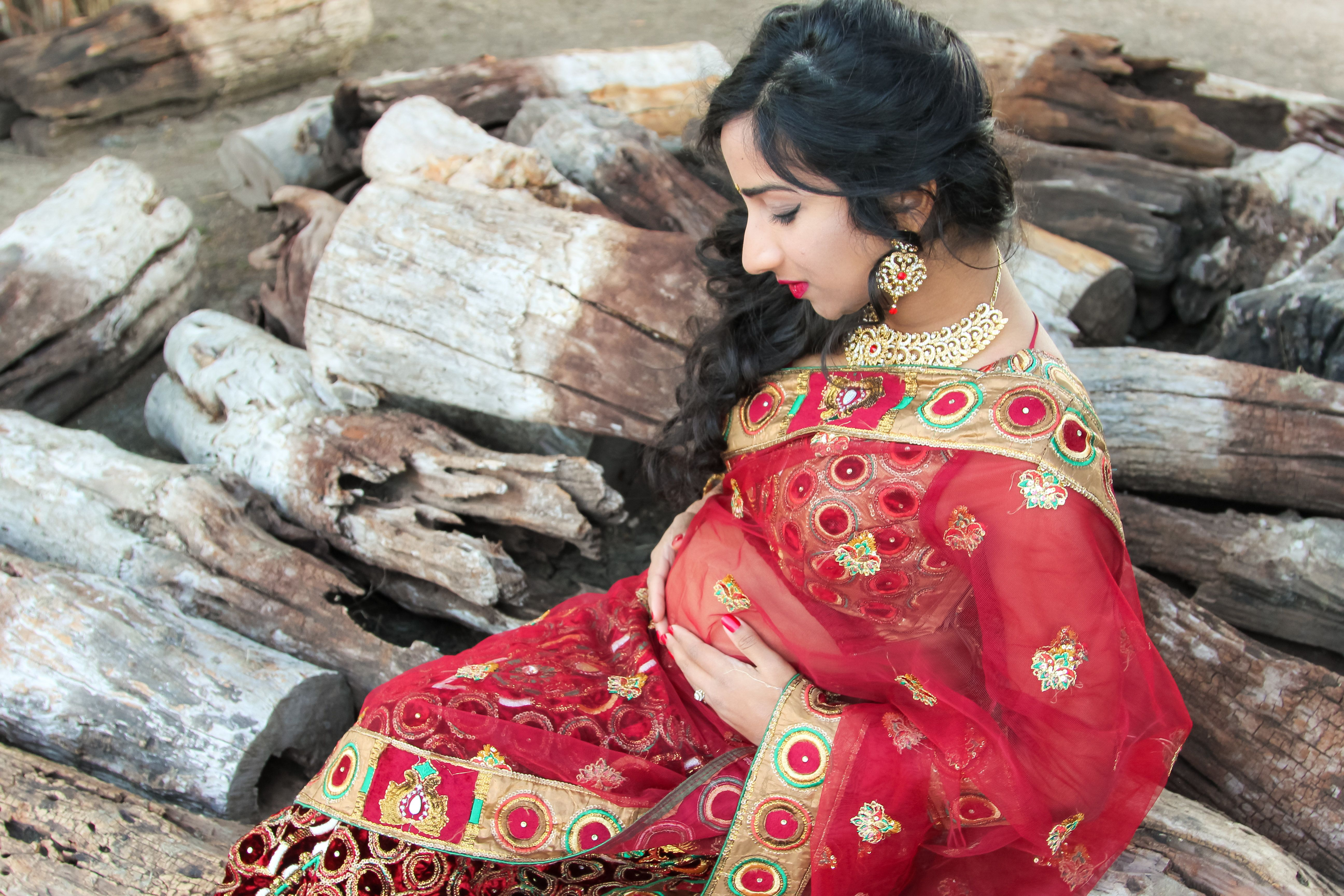 Sherine Valverde is an Indian-American mom-to-be from San Antonio.