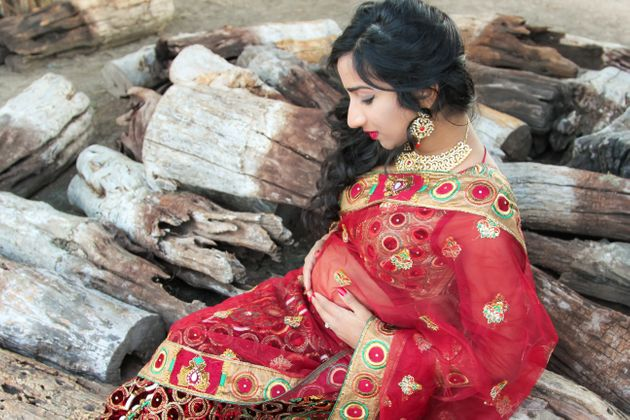 Sherine Valverde is an Indian-American mom-to-be from San