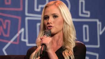 Tomi Lahren speaks during Politicon at the Pasadena Convention Center in Pasadena, California on July 29, 2017. Politicon is a bipartisan convention that mixes politics, comedy and entertainment. (Photo by: Ronen Tivony) (Photo by Ronen Tivony/NurPhoto via Getty Images)