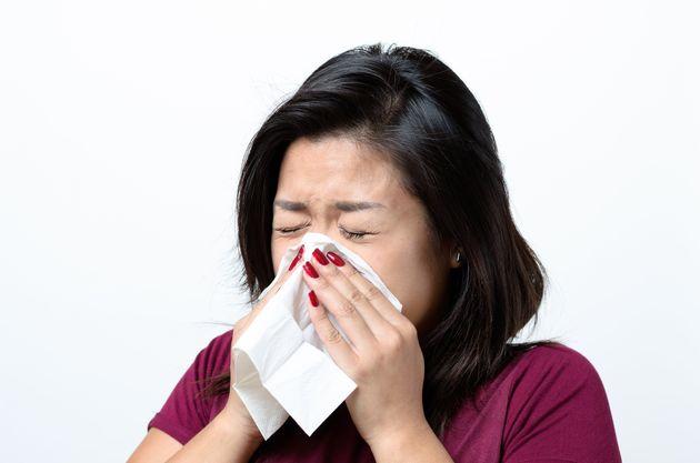 당신이 감기에 걸렸는지 독감에 걸렸는지 구별할 수