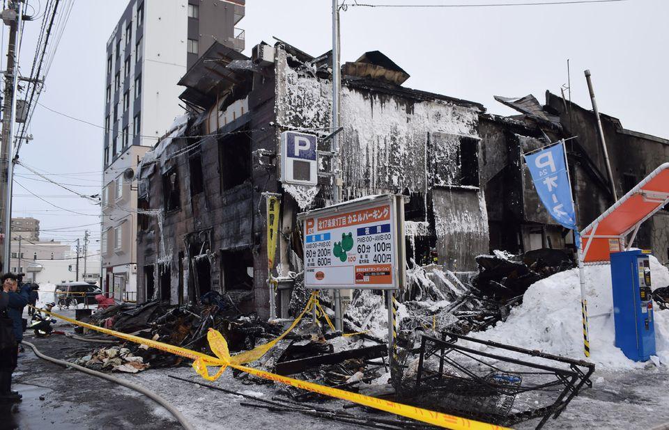 日 삿포로 노인시설서 화재…11명