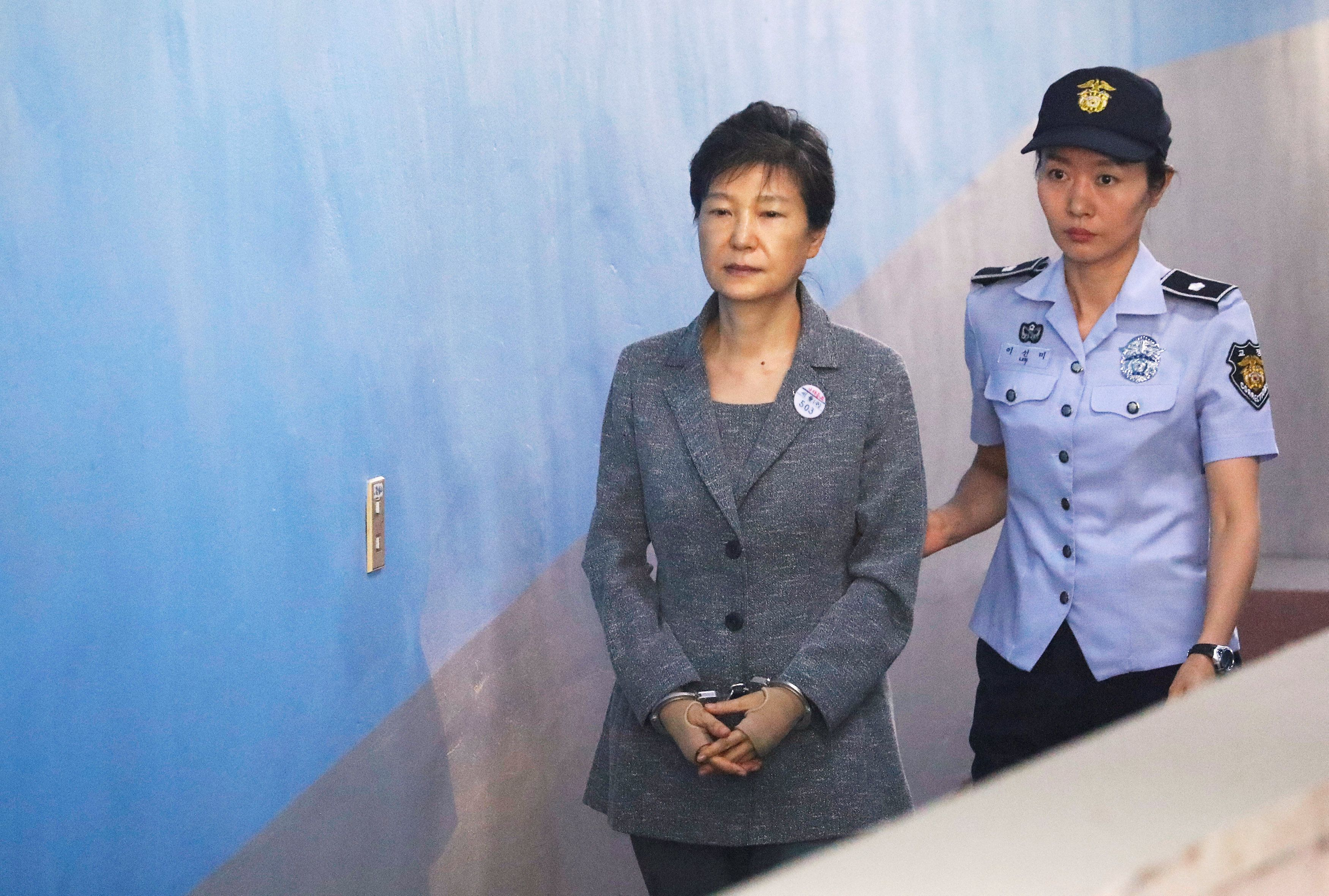박근혜 전 대통령이 또다시 재판에