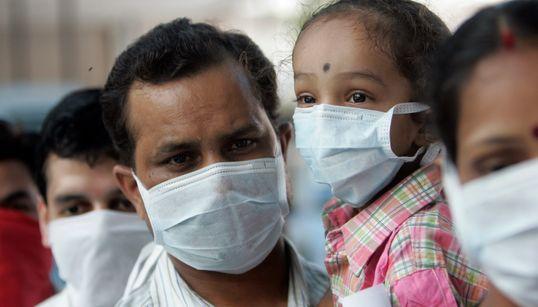 인도 대기오염이 빈곤층을 위협하고