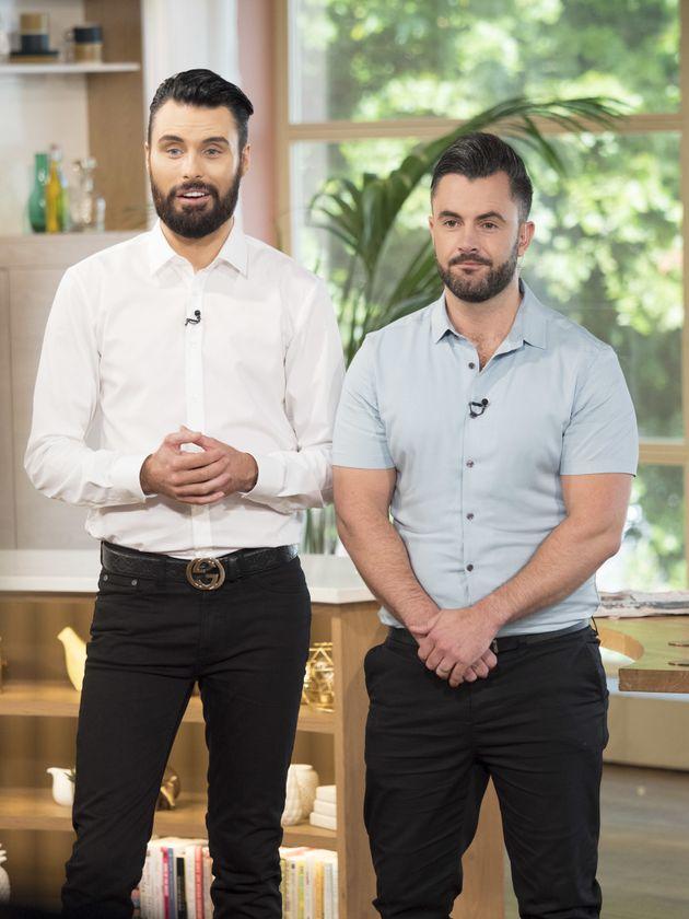 Rylan has presented 'This Morning' with his husband Dan