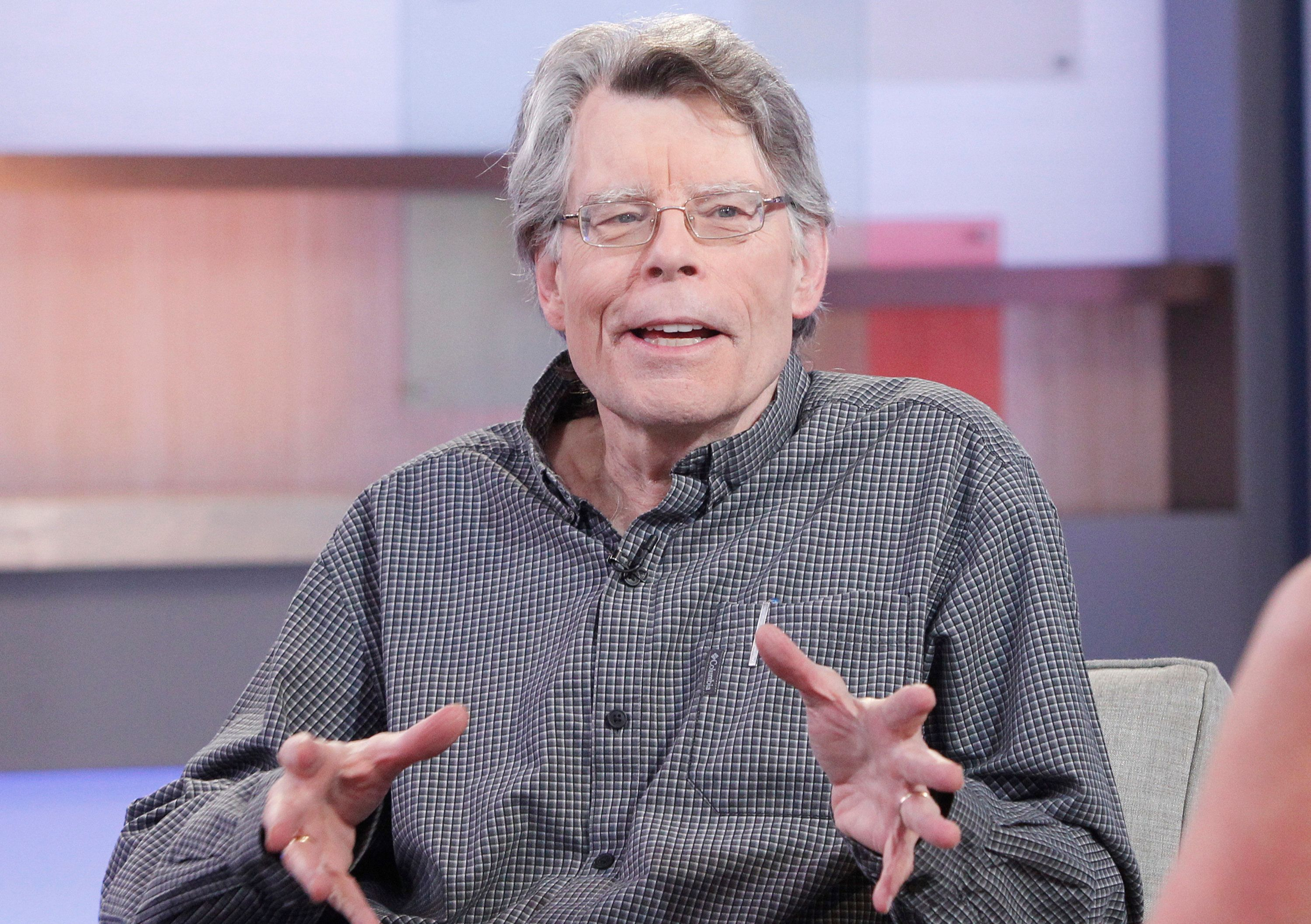 GOOD MORNING AMERICA - Author of contemporary horror, Stephen King is a guest on GOOD MORNING AMERICA, 11/2/15, airing on the ABC Television Network.   (Photo by Lou Rocco/ABC via Getty Images)