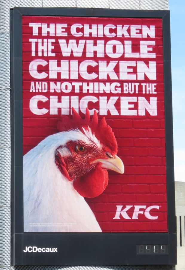 KFC'S Dancing Chicken Heading To Slaughter Tops The List Of 10 Most Complained About