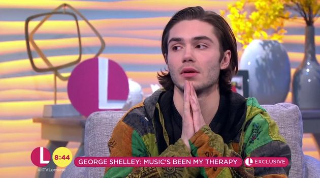 George Shelley Discusses Mental Health Struggle After Sister's Death In Candid 'Lorraine'