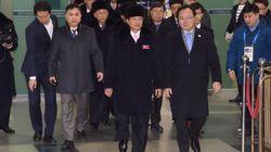 북한선수단이 32명이 한국에