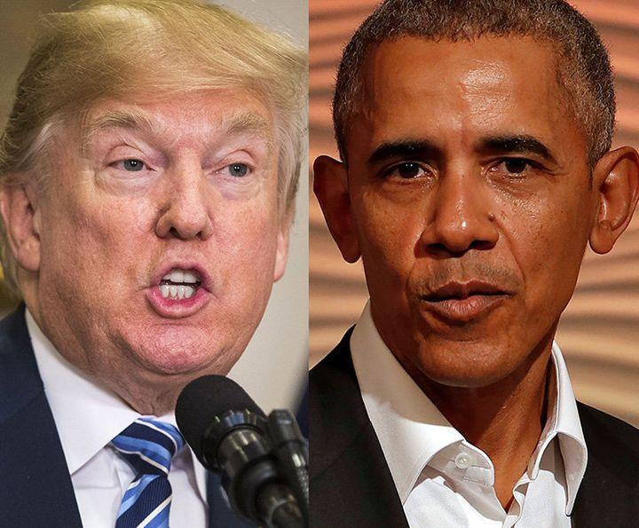 Donald Trump criticized the NBA's social justice platform while Barack Obama praised it.