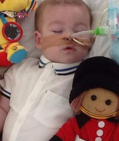 Justgiving Alfie Evans Is Receiving Life Support Treatment At Alder Hey Childrens Hospital In Liverpool
