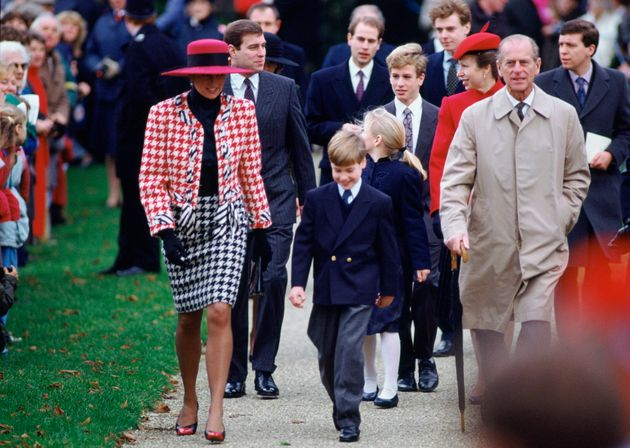 The Duchess Of Cambridge Twinned With Princess Diana During A Royal Visit In
