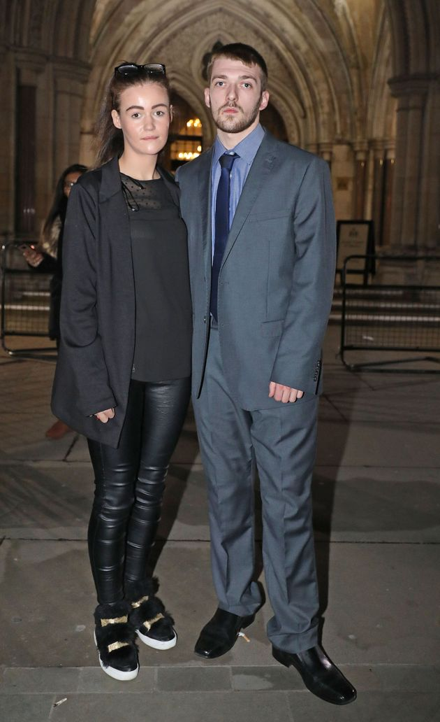 Tom Evans and Kate James want to take their son abroad for