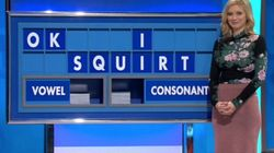 Rachel Riley Spells Out 'OK I Squirt' On 'Countdown', Reacts