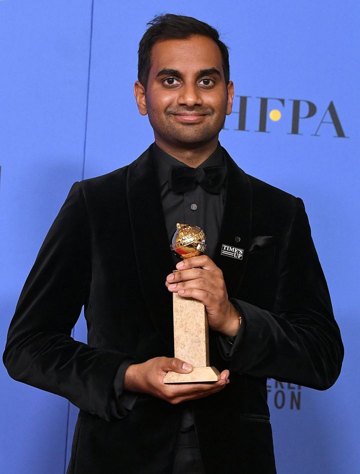 Aziz Ansari won a Golden Globe shortly before a woman spoke out about a date she had with the comedian that she describe