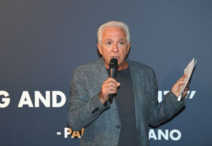 Paul Marciano, pictured in June, co-founded the Guess label in 1991.