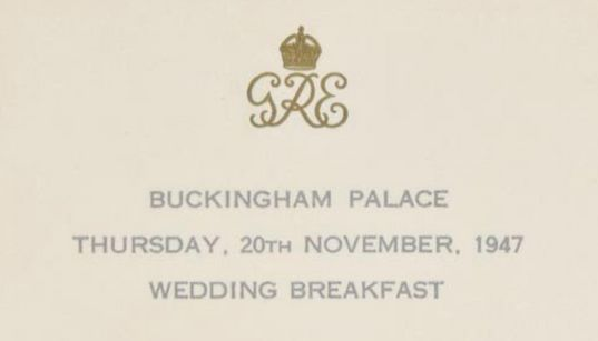You Are What You Eat: What Royal Wedding Menus Tell Us About The