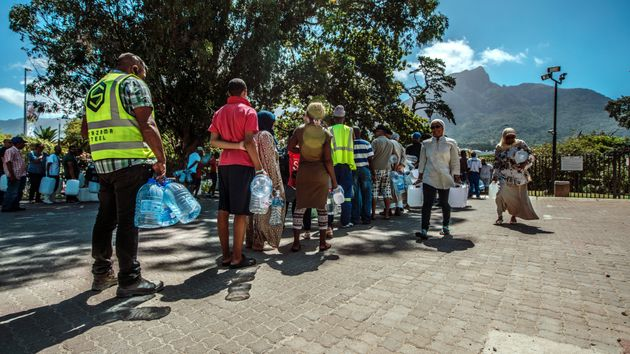 Cape Town ordered its residents to slash their water usage on Thursday but pushed...