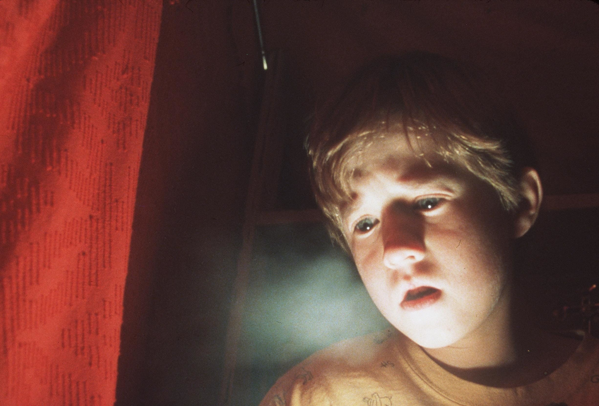 Frightened By His Paranormal Powers, 8-Year-Old Cole Sear (Haley Joel Osment) Is Too Young To Understand His Purpose In 'The Sixth Sense.' 1999 Spyglass Entertainment Group, Lp. All Rights Reserved. (Photo By Getty Images)