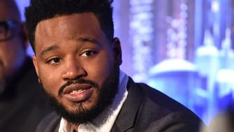 BEVERLY HILLS, CA - JANUARY 30:  Director Ryan Coogler attends the Marvel Studios' BLACK PANTHER Global Junket Press Conference on January 30, 2018 at Montage Beverly Hills in Beverly Hills, California.  (Photo by Alberto E. Rodriguez/Getty Images for Disney)
