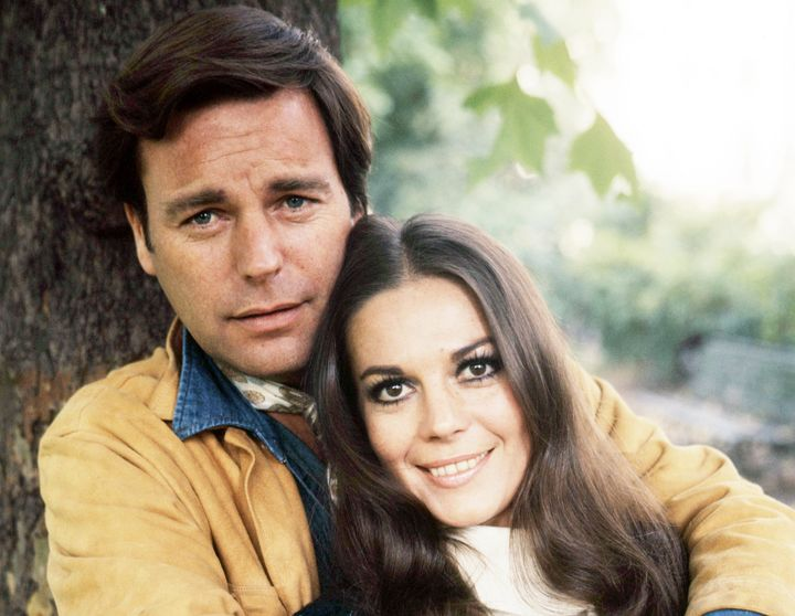 Robert Wagner and Natalie Wood in 1970.