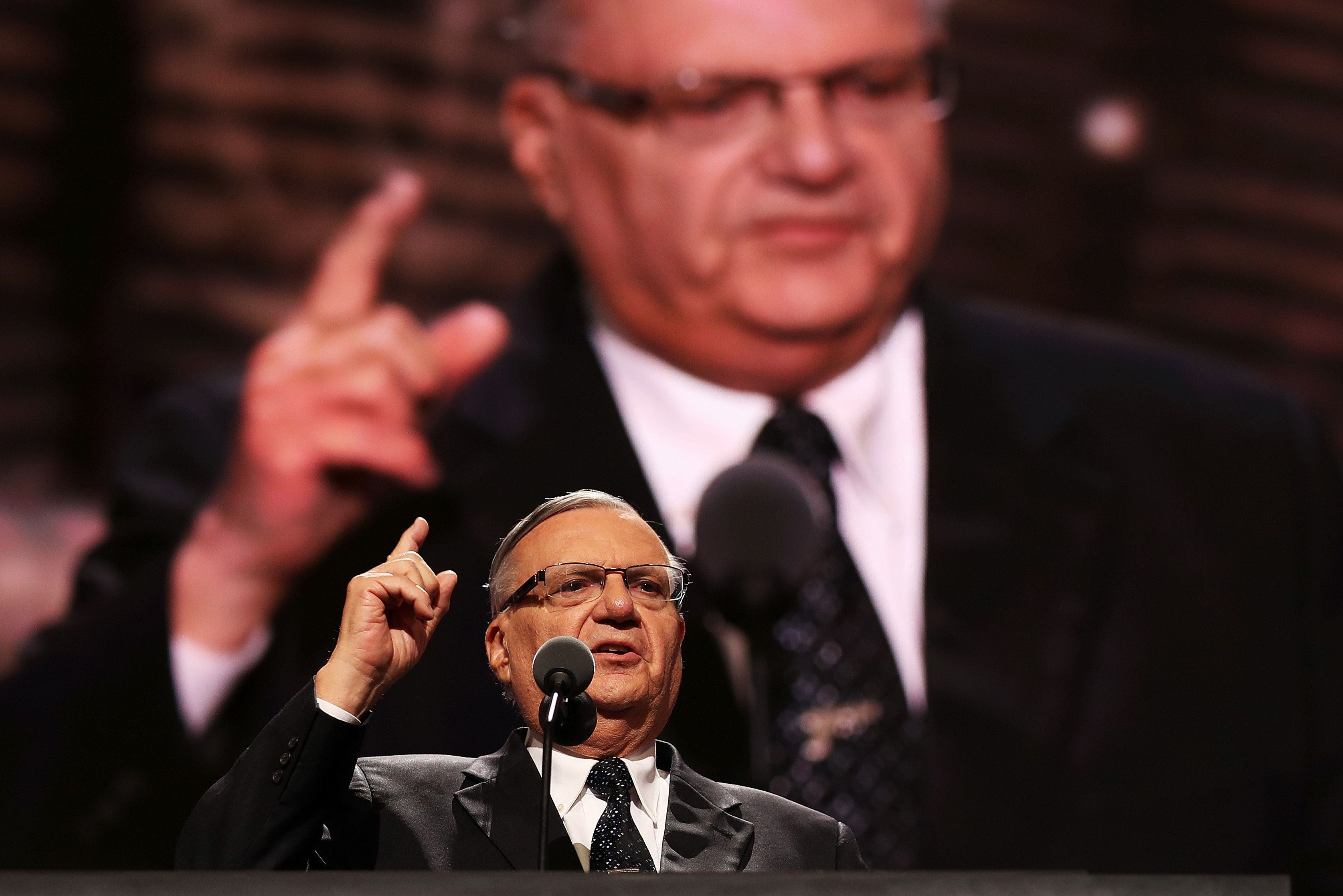 Arizona Senate candidate Arpaio 'unaware' he granted interview to anti-Semitic publication