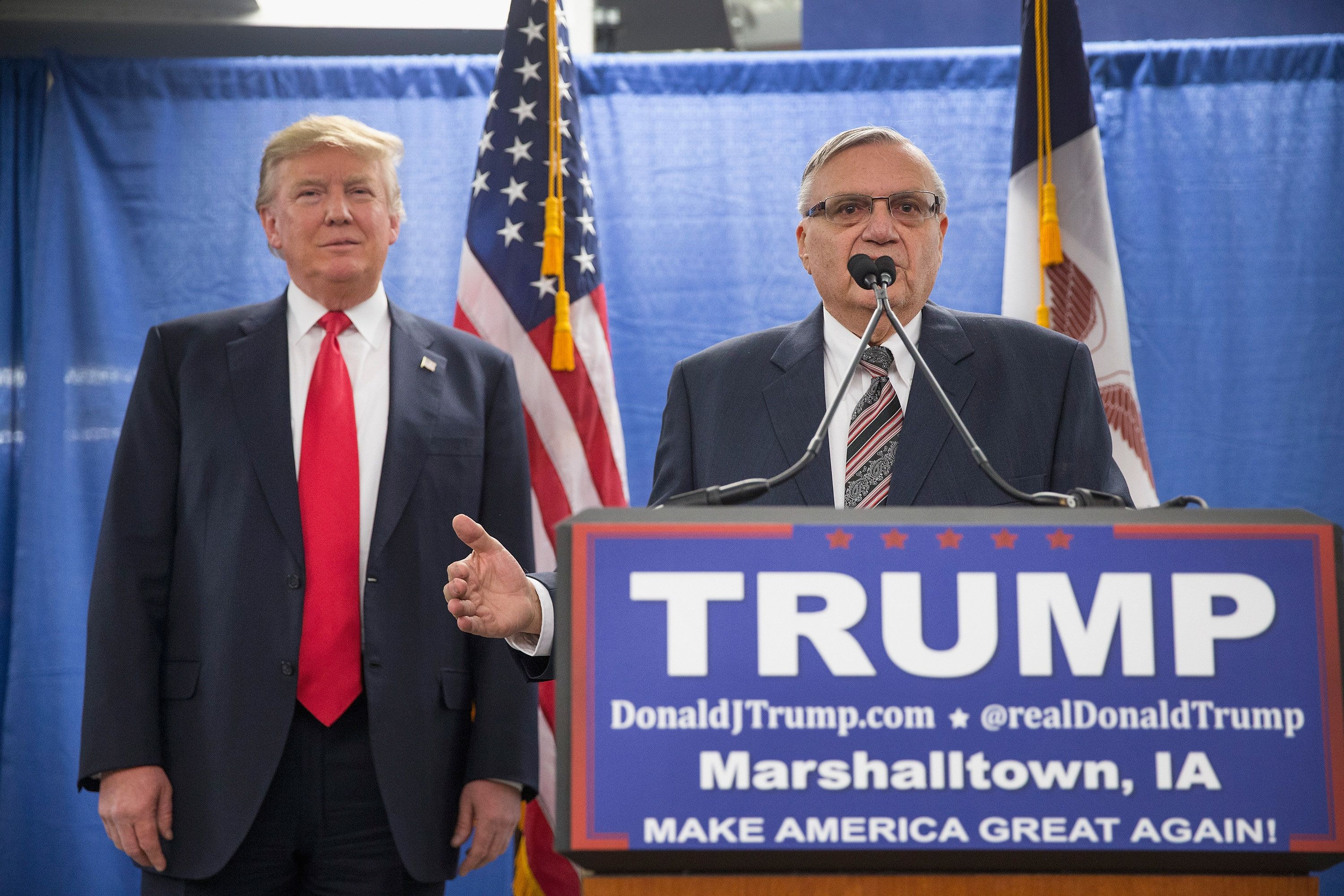 Arpaio pleads ignorance after interview, his fifth, with anti-Semitic paper
