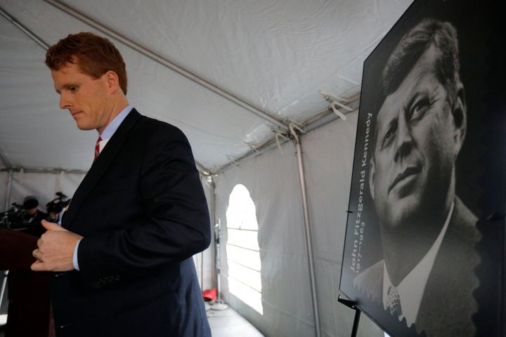 Rep. Joe Kennedy III (D-Mass.) didn't mention climate change in his party's official response to Tuesday's State of the
