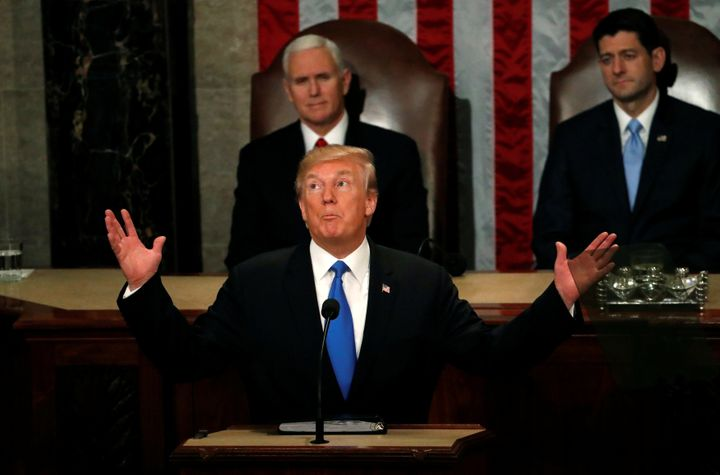President Donald Trump didn't bring up climate change at his first State of the Union address.