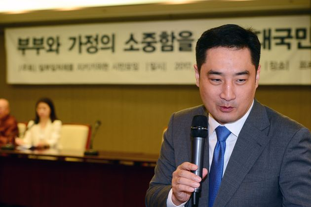 '도도맘' 김미나의 전 남편이 강용석을 향해