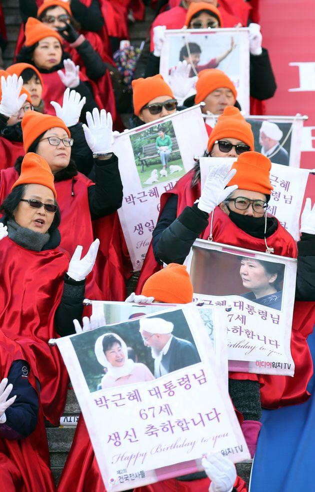 오늘은 박근혜 전 대통령의
