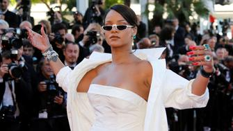 "70th Cannes Film Festival - Screening of the film ""Okja"" in competition - Red Carpet Arrivals- Cannes, France. 19/05/2017. Singer Rihanna poses. REUTERS/Regis Duvignau"