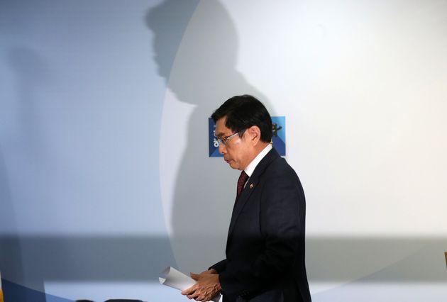 법무부 장관이 검찰 내 성추행 사건에 대해 입장을