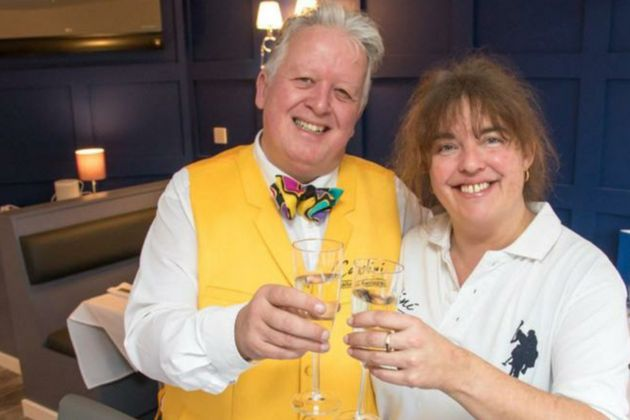 Former Head Chef Laura Goodman (right) and partner Michael
