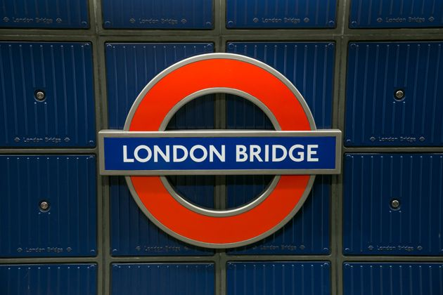 The attack occurred at London Bridge underground station on Friday morning (file