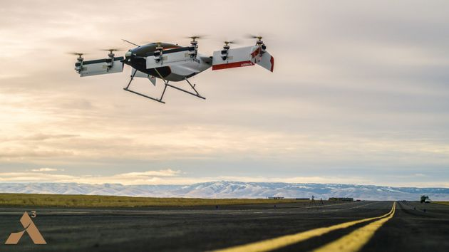 Airbus' Driverless Flying Taxi Completes First Successful Test