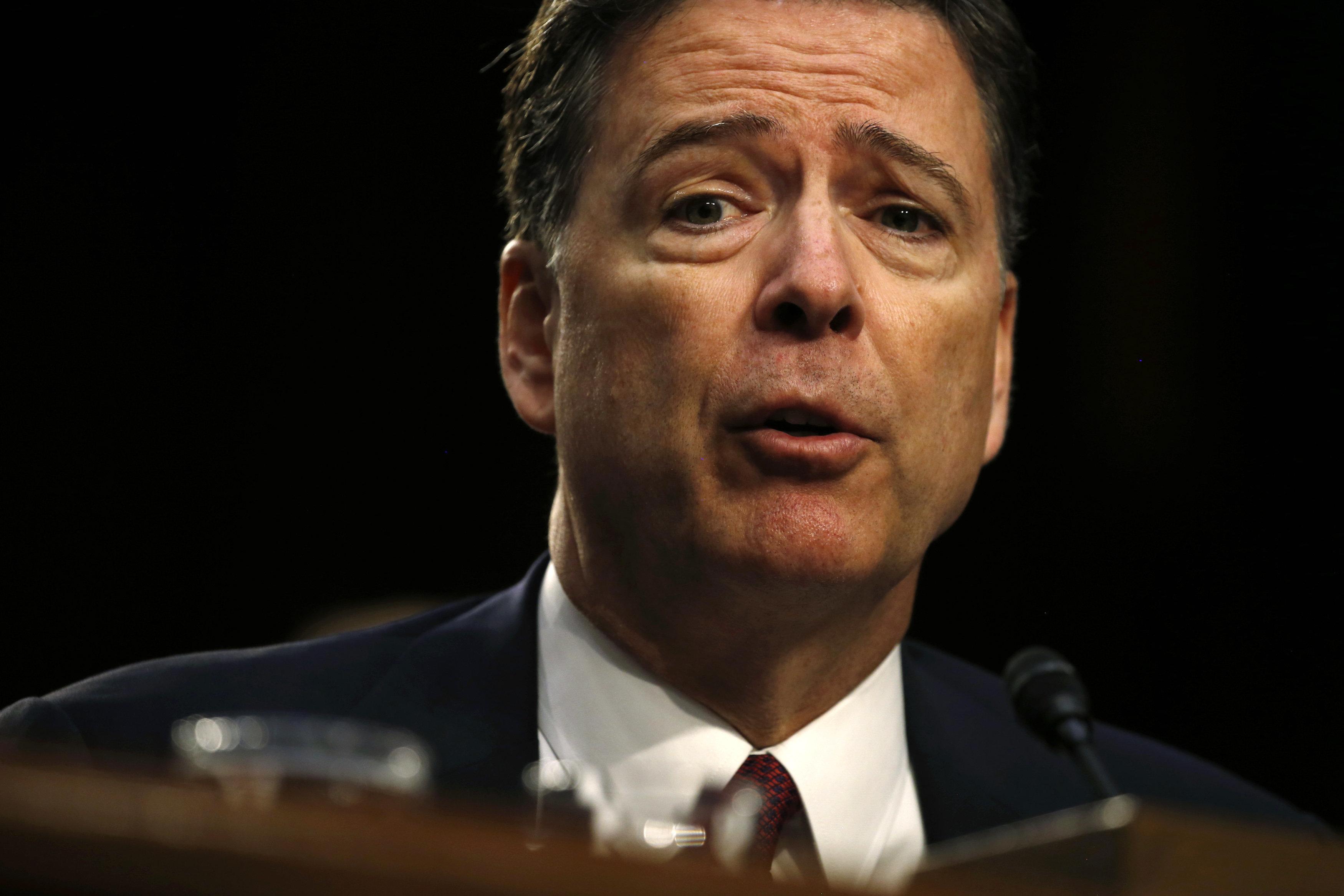 제임스 코미 전 FBI 국장이 침묵을