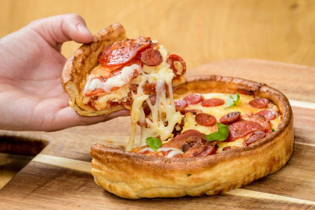 This Yorkshire Pudding Pizza Is The Definition Of Foodie