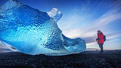 빙하가 수백년 생을 마감하는 곳, 다이아몬드 비치에