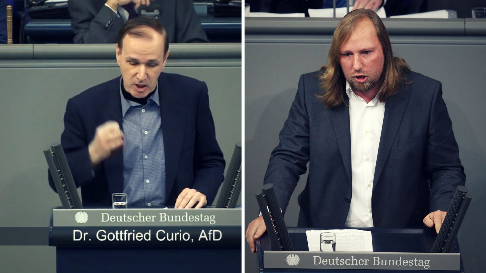 Wutduell im Bundestag: AfD-Mann hält Hetzrede – dann dreht Toni Hofreiter