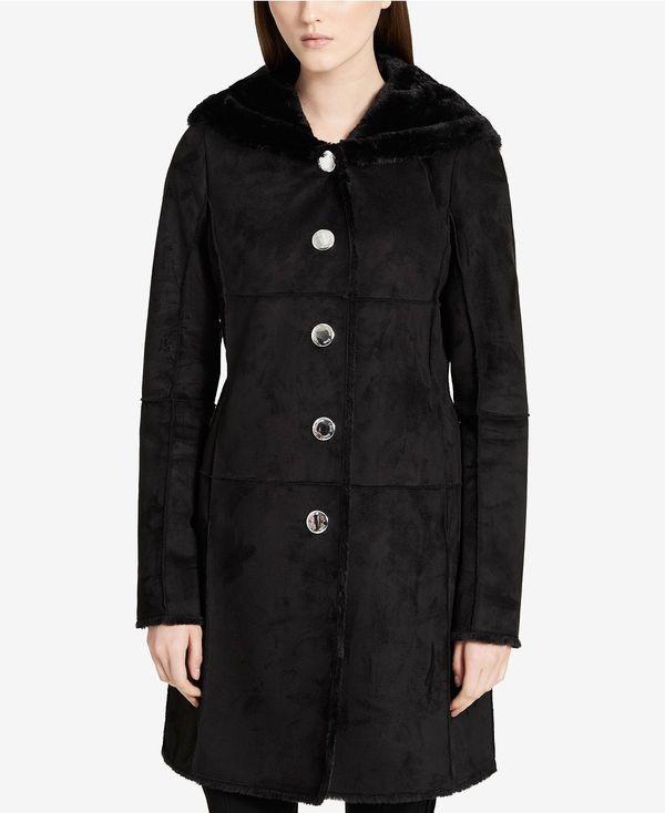 """<strong><a href=""""https://www.macys.com/shop/product/calvin-klein-hooded-faux-shearling-walker-coat?ID=4750578&CategoryID="""