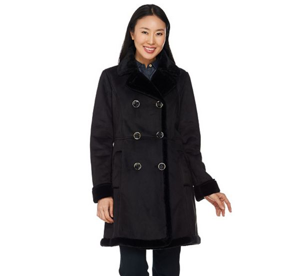 """<strong><a href=""""http://www.qvc.com/C-Wonder-Faux-Shearling-Double-Breasted-Coat.product.A281629.html?colorId=012&sizeId="""